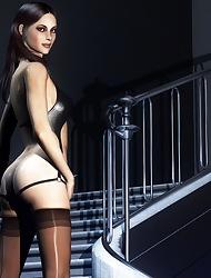 Nude Ladies Less 3D