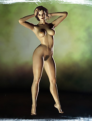 Nude Ladies At hand 3D
